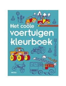 Deltas Het coole voertuigen kleurboek