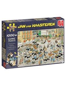 Jumbo/Jan van Haasteren De veemarkt 1000 stukjes