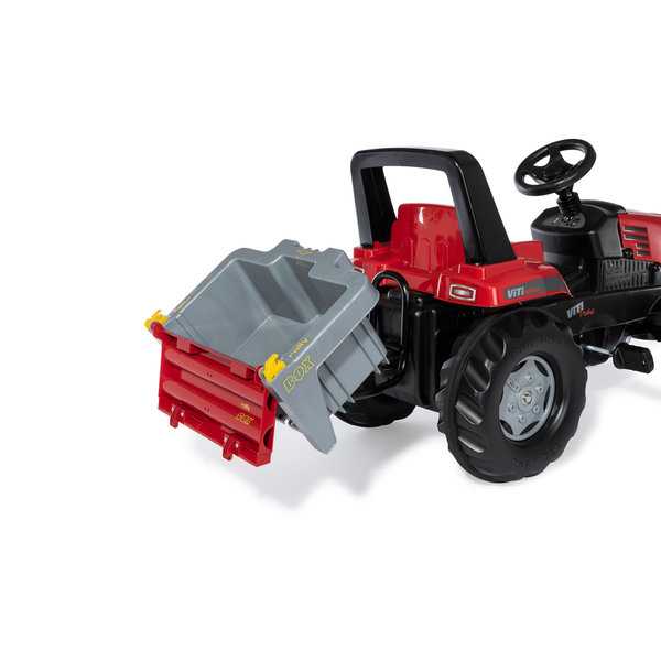 Rolly Transportbox grijs/rood