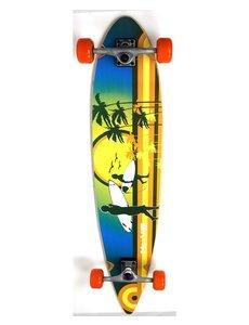"Move Longboard 43"" flat Beach  107 cm"