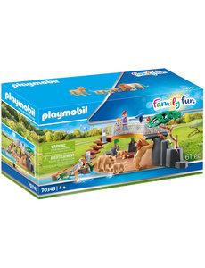 Playmobil 70343 - Leeuwen in het buitenverblijf