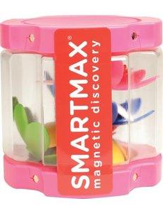 Smartmax/Geosmart Transparant Container met 8 bloemen