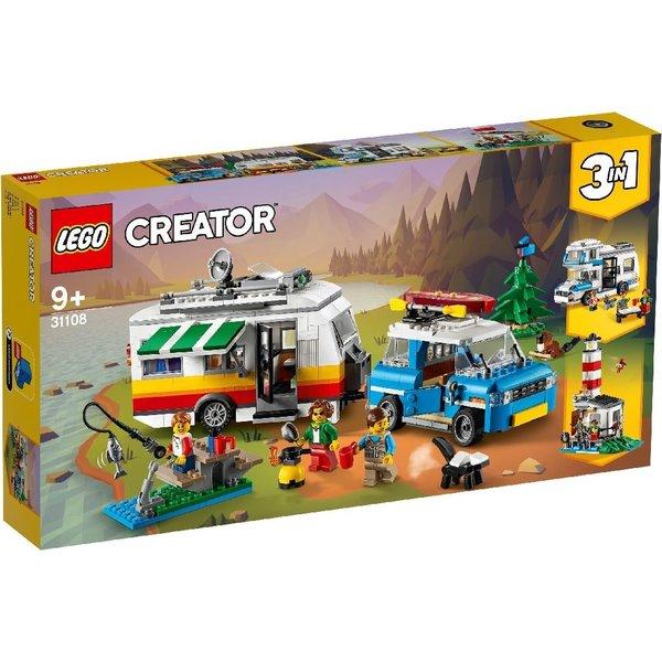 LEGO 31108 -  Familievakantie met caravan