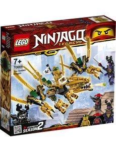 LEGO 70666 - De gouden draak