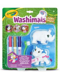 Crayola Washimals Neushoorn/Nijlpaard