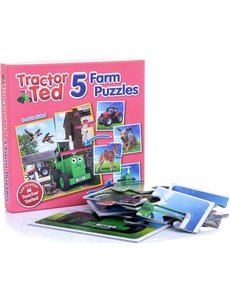 Tractor Ted Puzzel 5 in 1