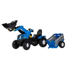 New Holland met aanhanger set