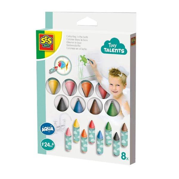 Tiny Talents - kleuren in bad