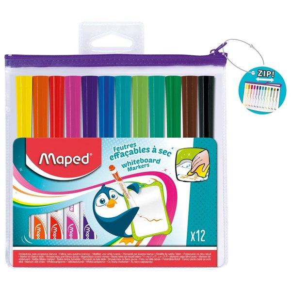 Maped Stiften Whiteboard 12 kleuren