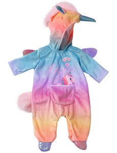 Zapf Creation Onesie eenhoorn baby born