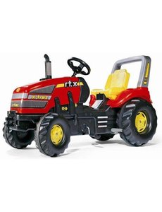 Rolly Toys Rolly X-Trac rood met versnellingen en handrem