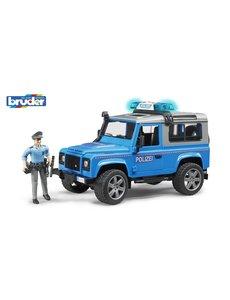 Bruder 2597 - Land Rover Defender Stationwagen - Politie