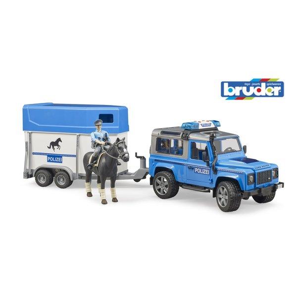 2588 - Land Rover Defender politie en paardentrailer