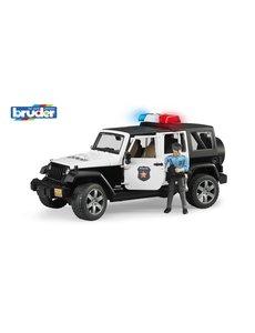 Bruder 2526 - Politie Jeep met politieagent, licht en geluid