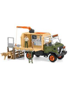 Schleich Grote reddingswagen voor dieren - 42475