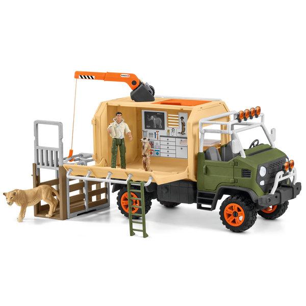 Schleich 42475 - Grote reddingswagen voor dieren