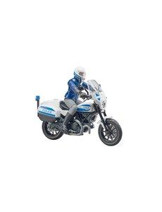 Bruder 62731 - Ducati motorpolitie met politieagent
