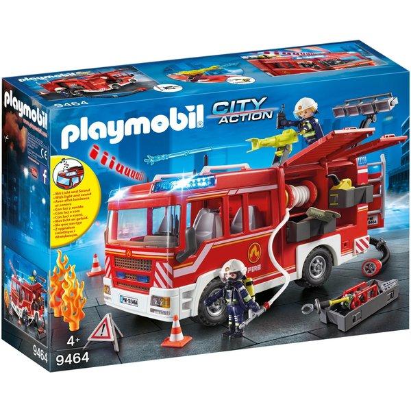 Playmobil 9464 - Brandweer pompwagen