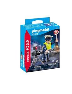 Playmobil 70305 - Politieman met flitscontrole