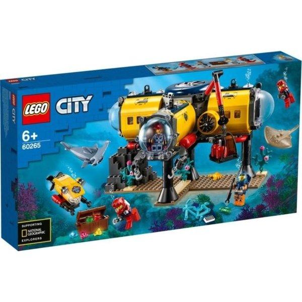 LEGO 60265 - Oceaan Onderzoeksbasis