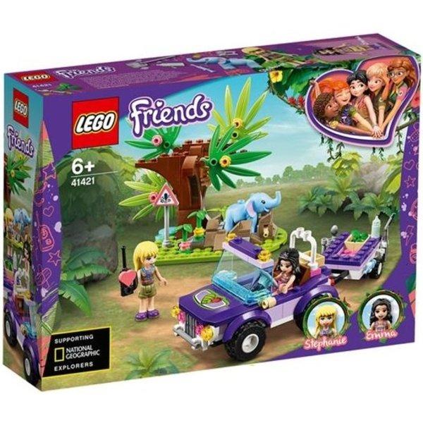LEGO 41421 - Reddingsbasis babyolifant in jungle