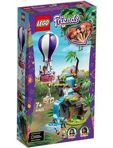 LEGO 41423 - Tijger reddingsactie met luchtballon in jungle