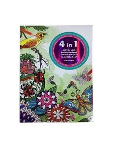 Kleur- en activiteitenboek voor volwassenen