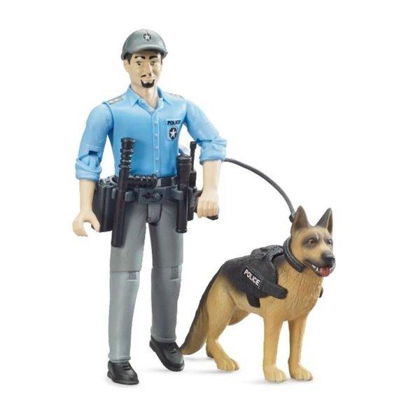 62150 - Politie speelfiguur met hond