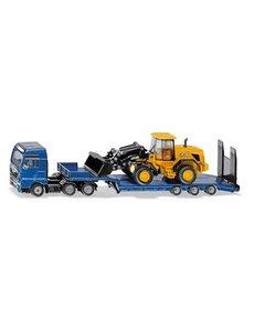 Siku 1790 - MAN truck met JCB graafmachine