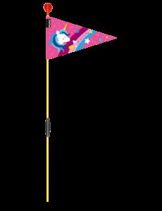 Puky Veiligheidsvlag roze Unicorn