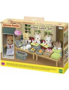 Sylvanian Families Lunch op school