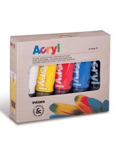 Primo Pro Acrylverf, 5 tubes - 75 ml
