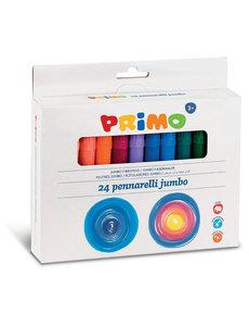 Primo Pro 24 Jumbo viltstiften (fiber punt)