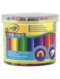 Crayola Mini kids Waskrijtjes 24 stuks