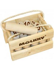 Tactic/Selecta Mölkky in houten kist