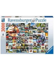 Ravensburger 99 VW Bulli moments, 3000 stukjes