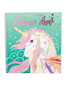 Depesche-TopModel TopModel Colouring book zilver art