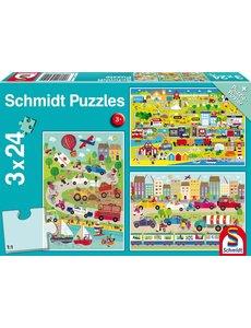 3x24 puzzel vervoer