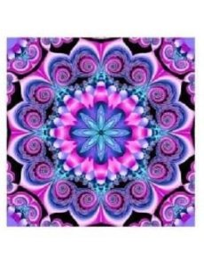 Diamond Painting Mandala Lila 40x40 cm