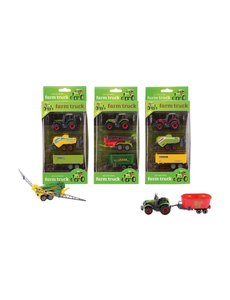 Farm Masters Die-cast tractor, 3-delig, 4 assorti