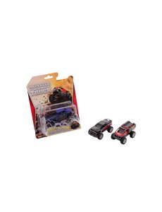 JohnToy SUV stunt auto, pull back- assorti