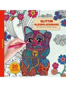 Glitterkleurboek - Happiness