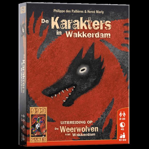 999 Games De karakters in wakkerdam, uitbreiding
