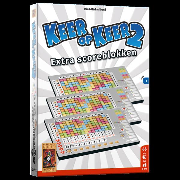 999 Games Keer op Keer 2, 3 scoreblokken level 1