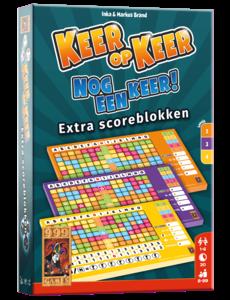 999 Games Keer op keer scoreblok level 2, 3 en 4, 3 stuks