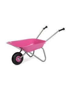 Rolly kruiwagen metaal roze