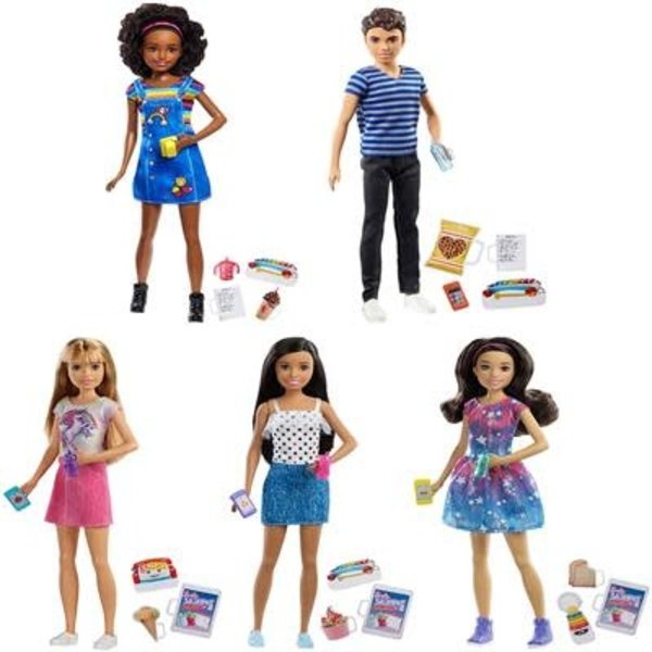 Barbie Barbie Skippers, Babysitters - assorti