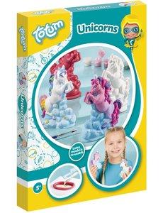 Totum Gips gieten en schilderen Unicorn