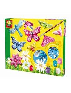 SES Gips gieten en schilderen vlinders
