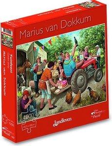 Marius van Dokkum Tuinfeest 1000 st.